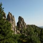 Скалы перья