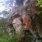 красные скалы у Серпиевки