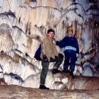 Натек в Новомурадымовской пещере