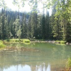 Озеро в истоках Евлахты