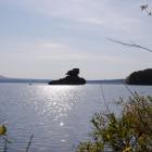 Остров-останец Жумбактас.