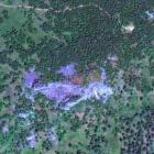 Южная скала. Вид из космоса