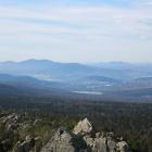 Вид с вершины г. Монблан на юг и юго-запад 13 октября 2012 г, 12ч 20м