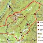 """Карта природного парка """"Иремель"""""""