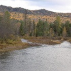 Переходим реку Юрюзань, 28.09.2012
