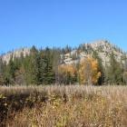 Скалы горы, обозначенной как высота 960м. 29.09.2012
