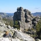 Курумник и останцы на склоне г. Антенная. 29.09.2012