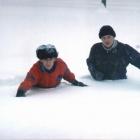 Если снять лыжи...