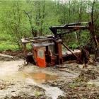После дождевого паводка